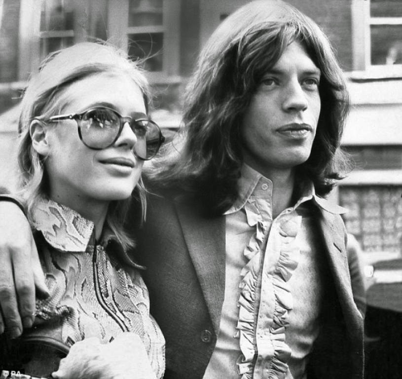 marianne faithful, mick jagger